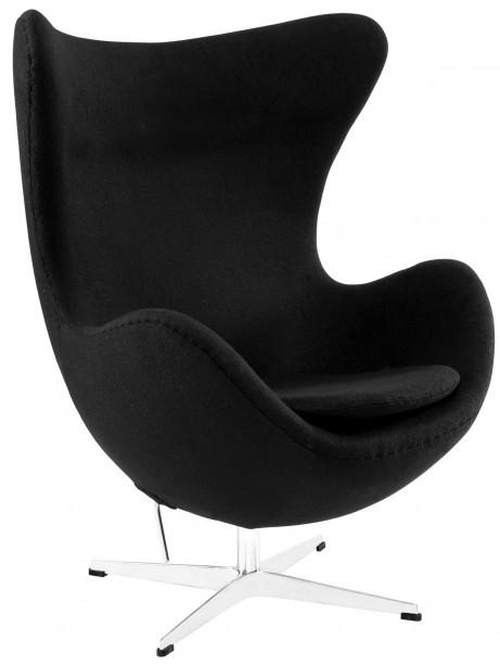 Black Magnum Wool Chair 461x614