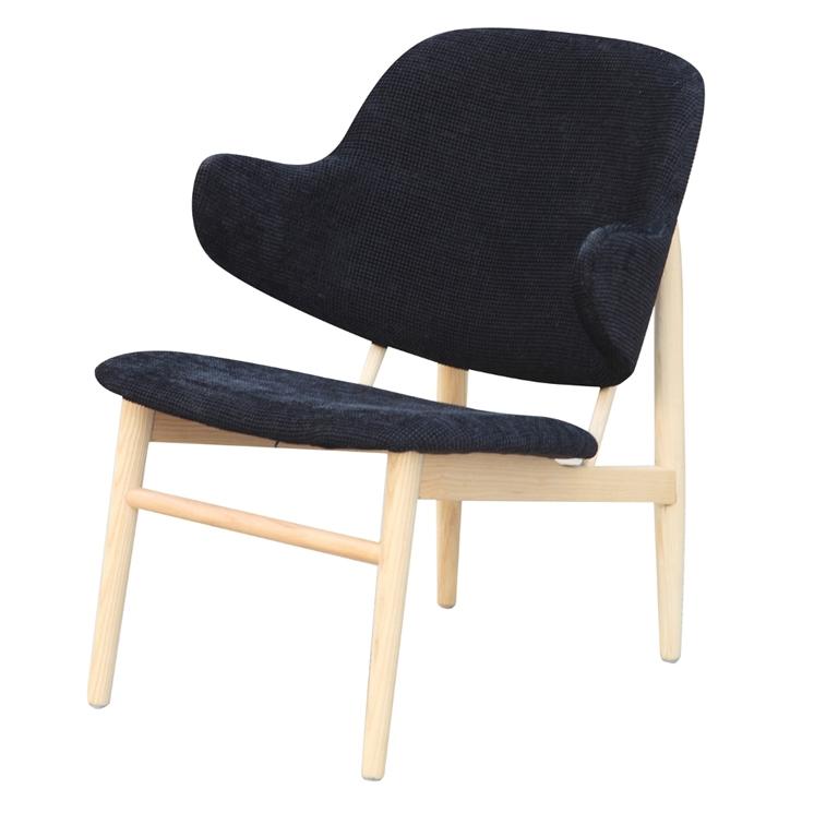 Black Natural Wood Balman Chair 2