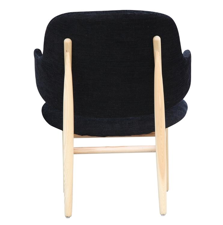 Black Natural Wood Balman Chair 4
