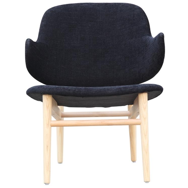 Black Natural Wood Balman Chair