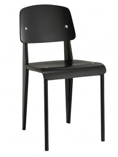Black Standard Chair 237x315