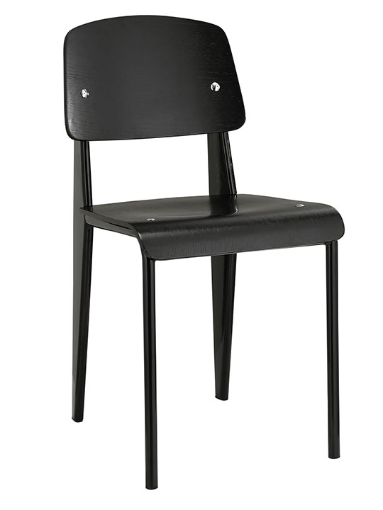 Black Standard Chair