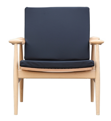 Black Zealand Lounge Chair 1  461x502