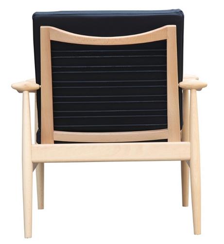 Black Zealand Lounge Chair 4 461x503