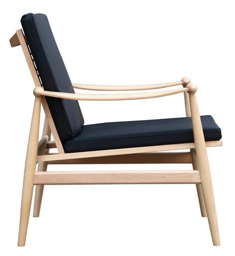 Black Zealand Lounge Chair 5 461x502