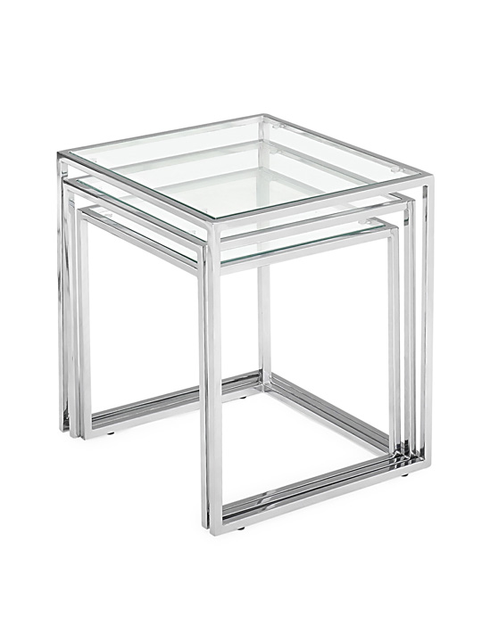 Bloc Clear Nesting Tables