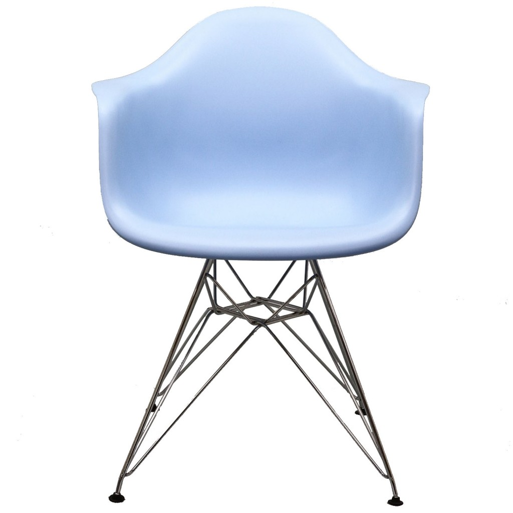 Blue Ceremony Wire Armchair 2
