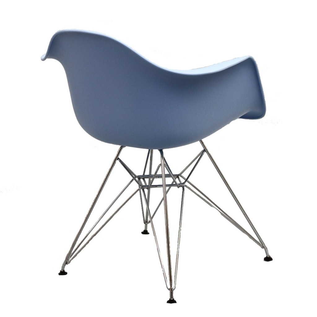 Blue Ceremony Wire Armchair 4