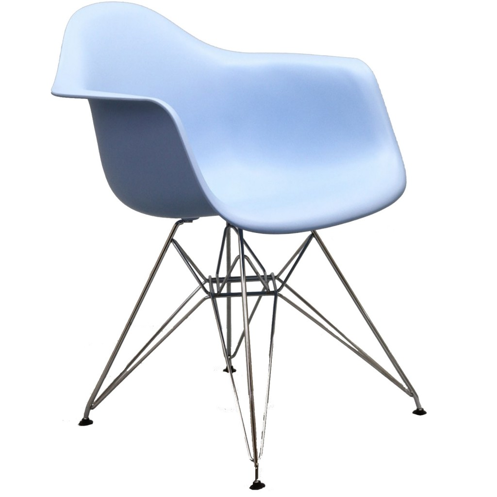 Blue Ceremony Wire Armchair