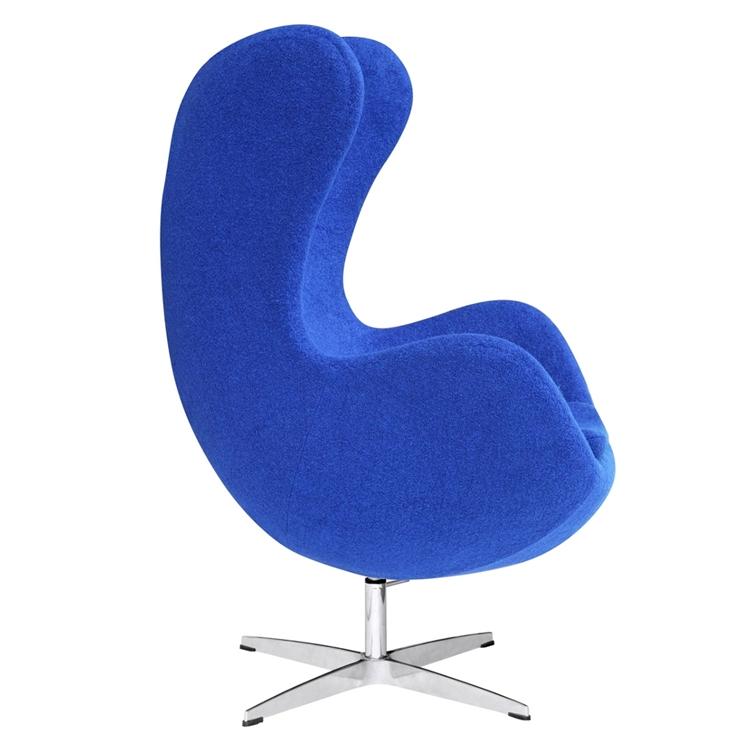 Blue Magnum Wool Chair 1