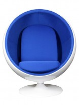 Blue Private Space Chair 156x207