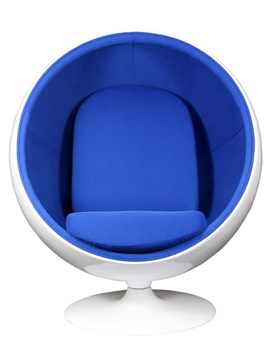 Blue Private Space Chair