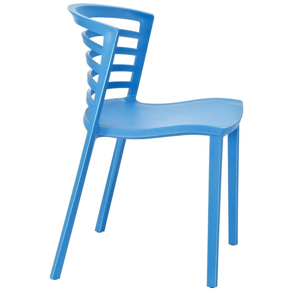 Blue Skeleton Chair 2