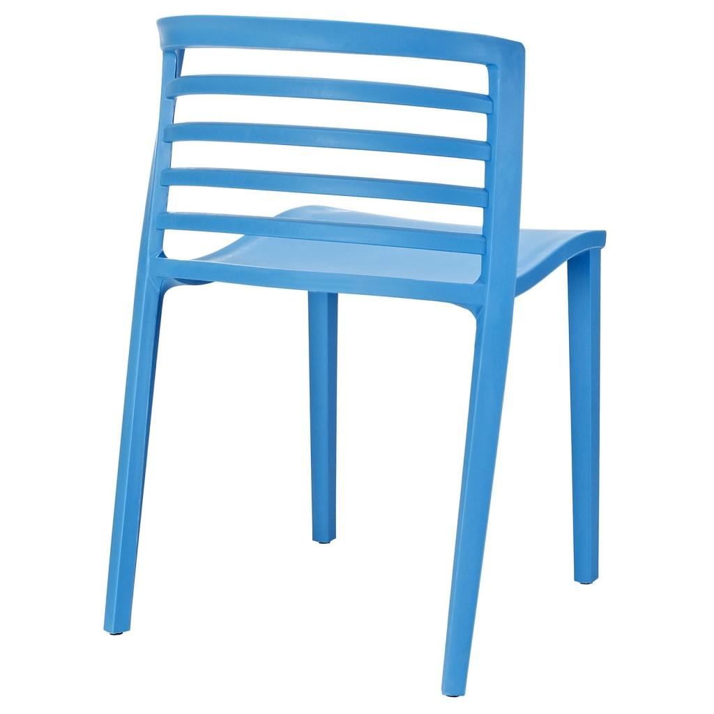 Blue Skeleton Chair 3