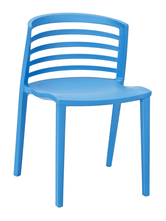 Blue Skeleton Chair