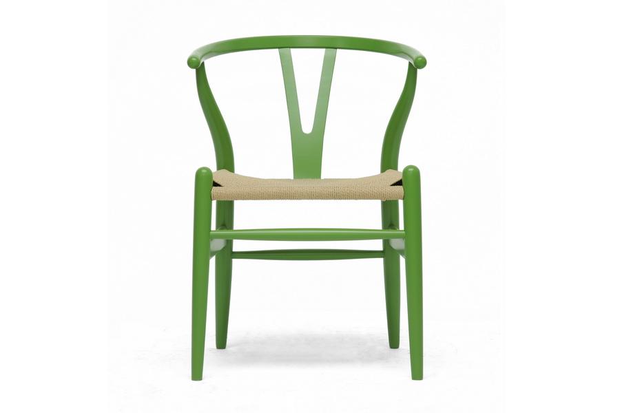 Bright Green Hemp Chair 2