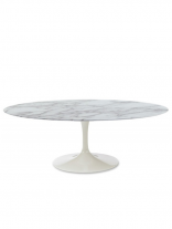 Brilliant Marble Oval Coffee Table 156x207