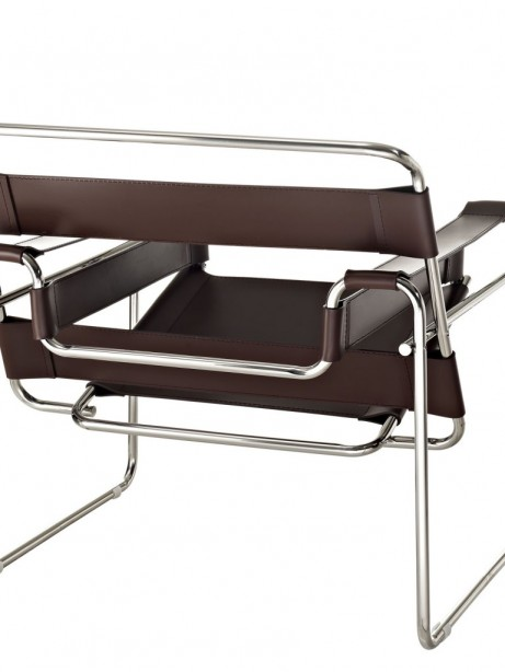 Brown Leather Strap Chair 2 461x614
