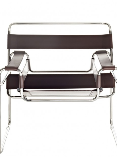 Brown Leather Strap Chair 3 461x614