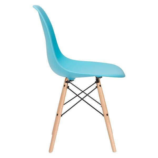 Ceremony Wood Chair Sky Blue 3