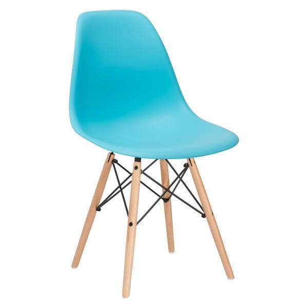 Ceremony Wood Chair Sky Blue