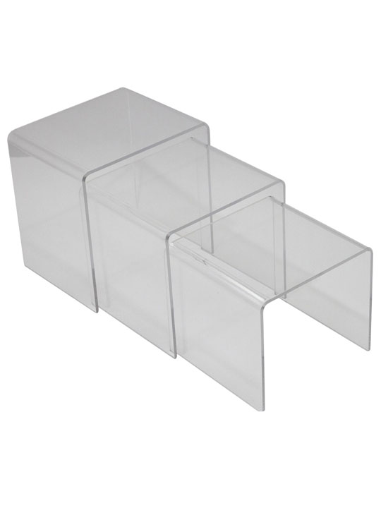 Clear 3 Ice Accent Table 4
