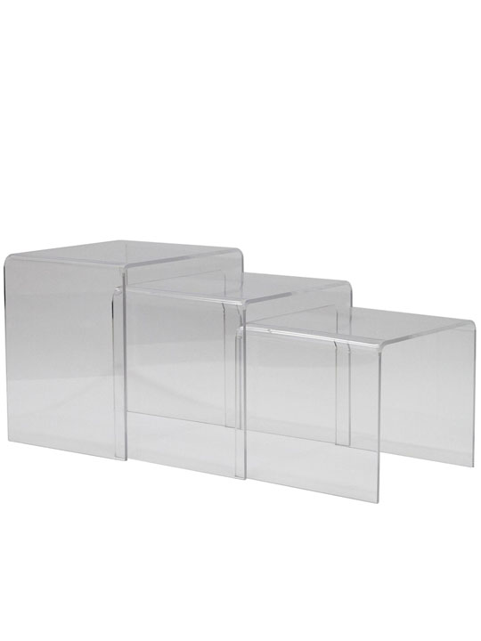 Clear 3 Ice Accent Table 5