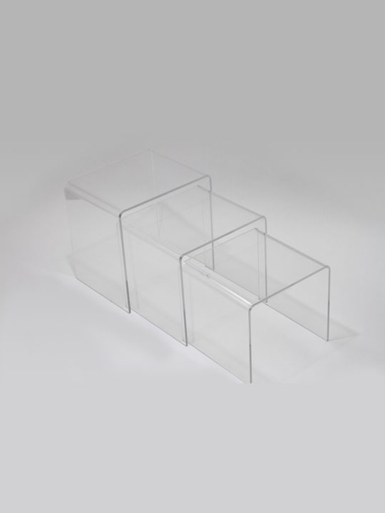 Clear 3 Ice Accent Table 7