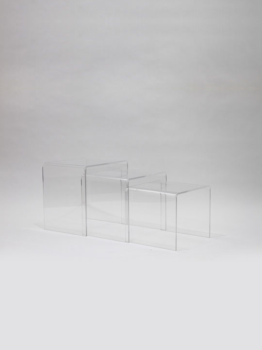 Clear 3 Ice Accent Table 9