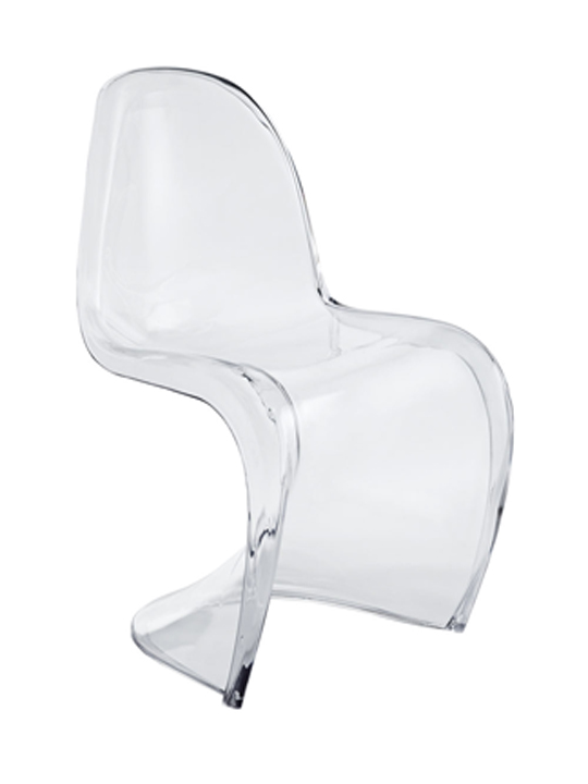 Clear Blaze Chair