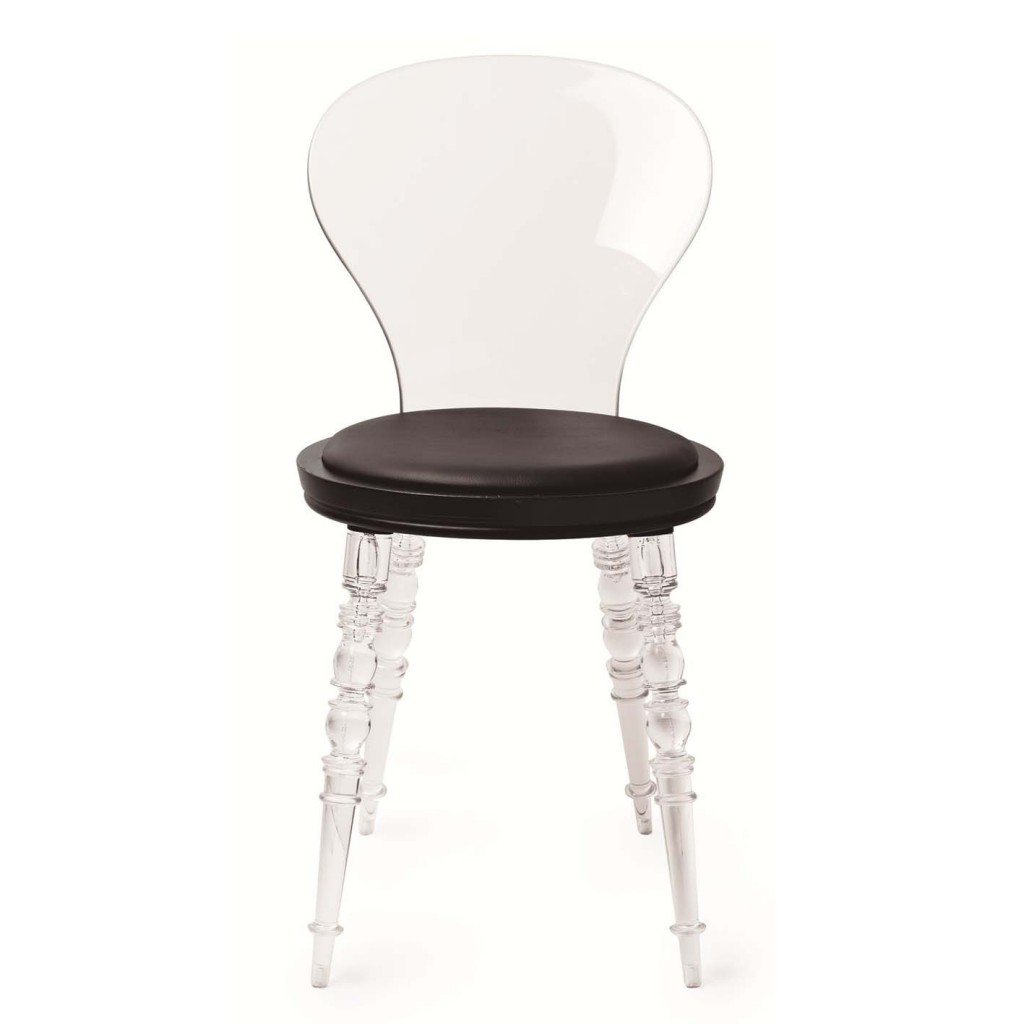 Clear Boutique Chair
