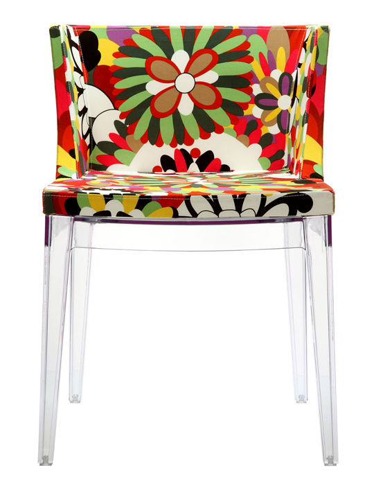Clear Floral No. 9 Chair