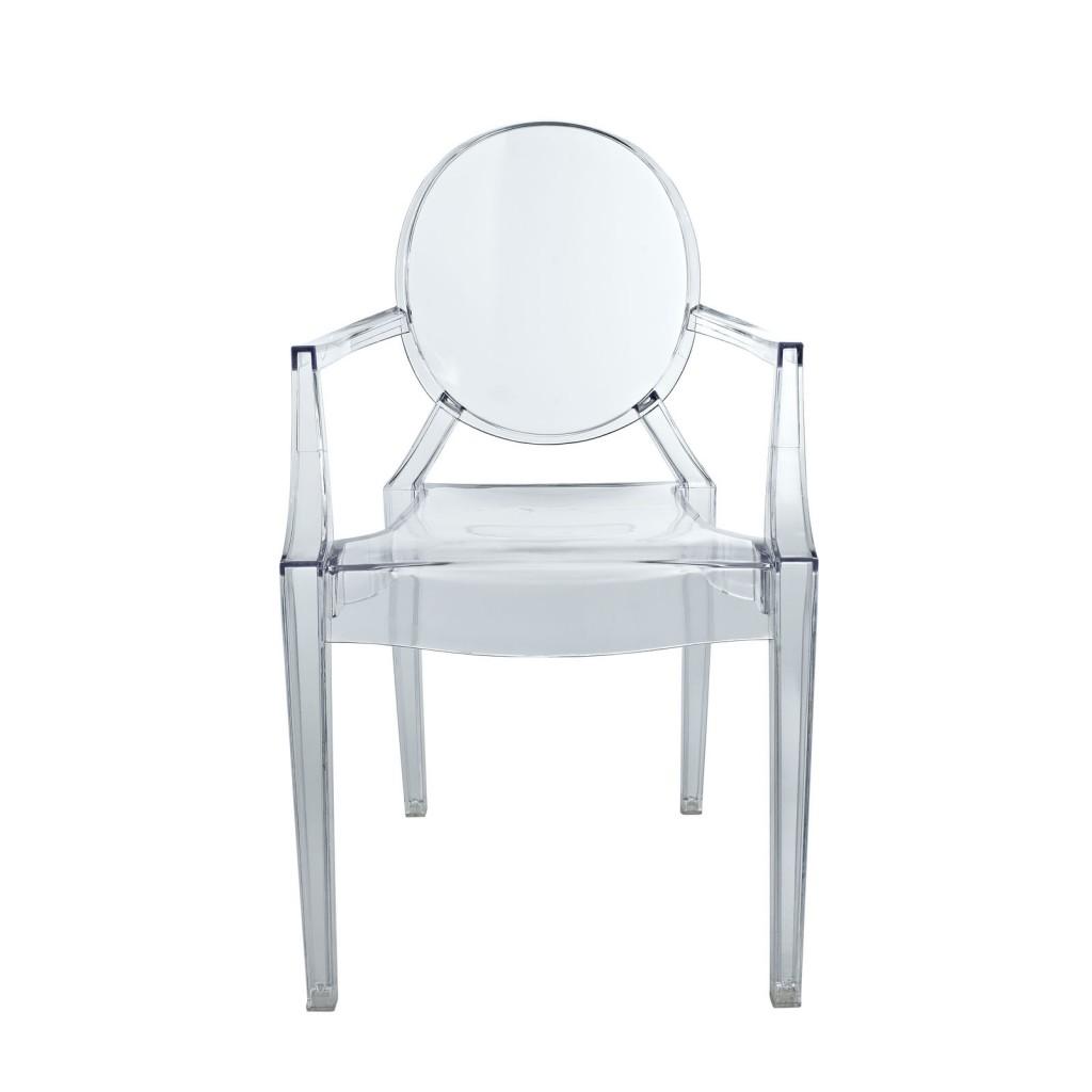 Clear Kids Throne Chair 2