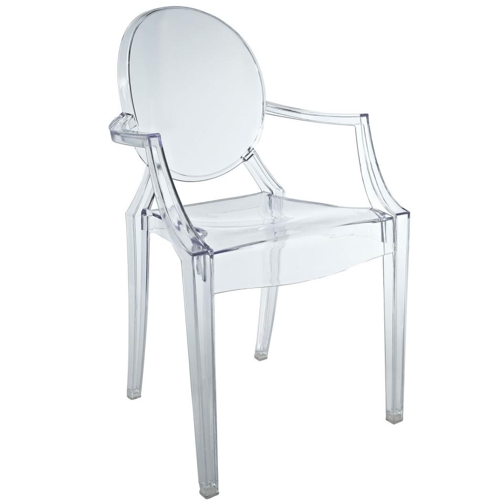 Clear Kids Throne Chair