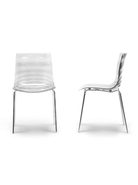 Clear Lucite Tide Chair 2