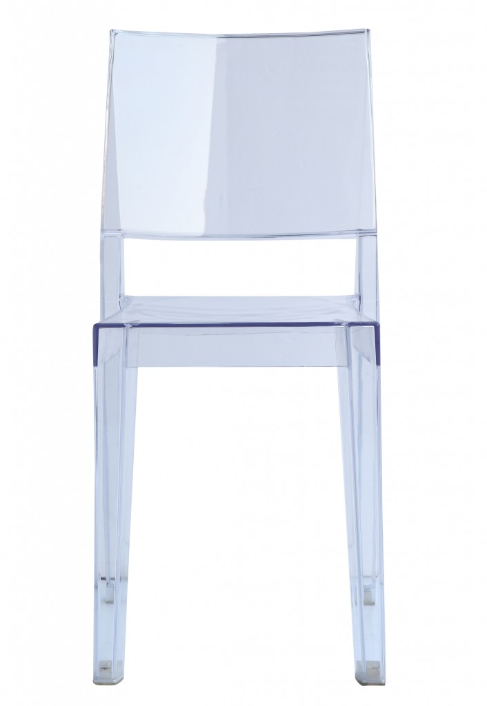 Clear Square Chair 2