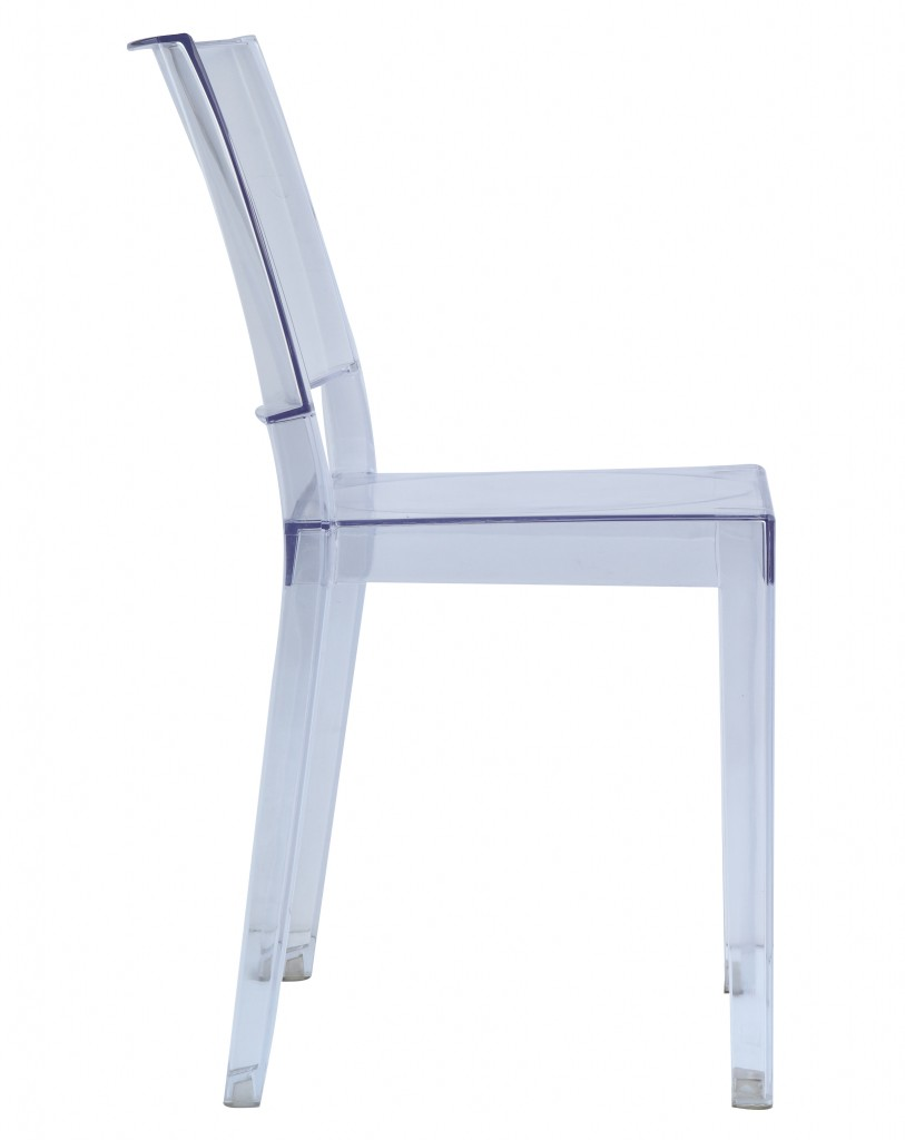 Clear Square Chair 3