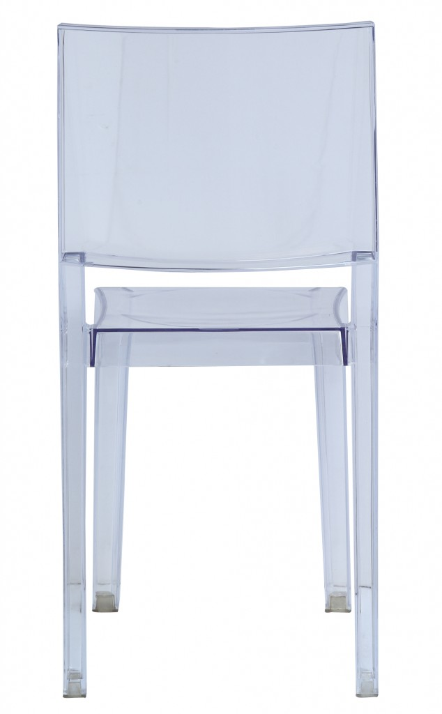 Clear Square Chair 4