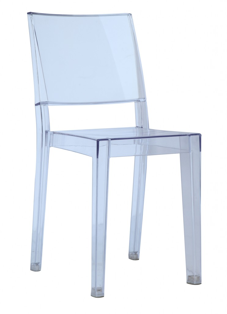 Clear Square Chair2