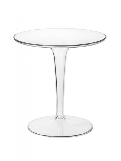 Clear Tulip Side Table 461x614