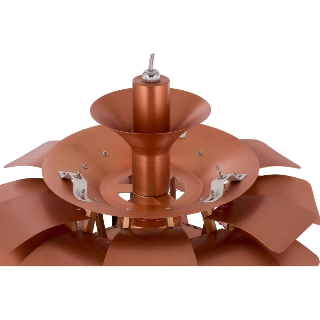 Copper Icon Chandelier Detail 1