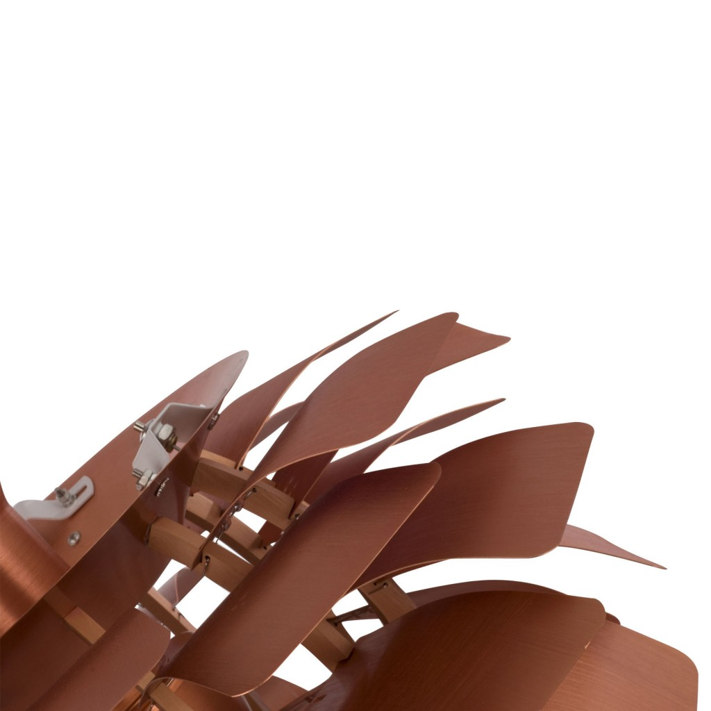 Copper Icon Chandelier Detail 2