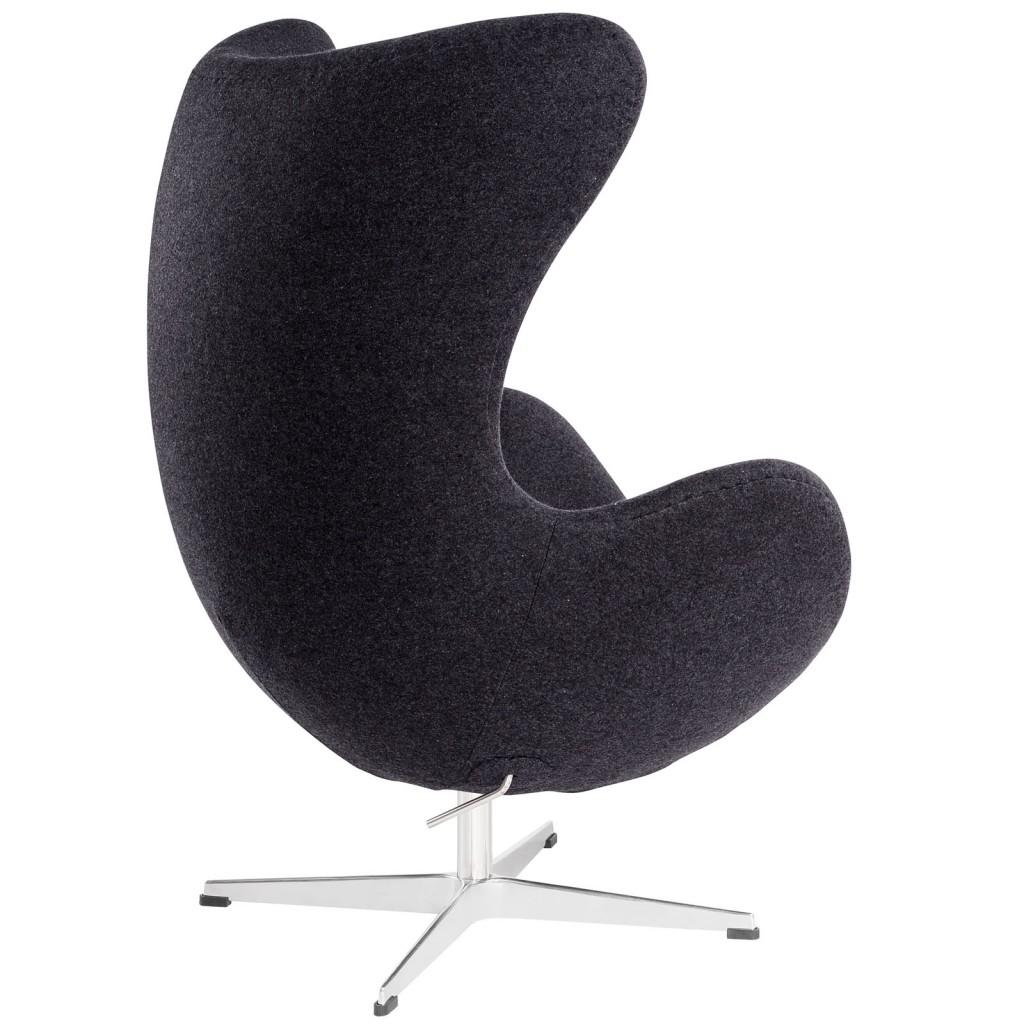 Dark Grey Magnum Wool Chair 2