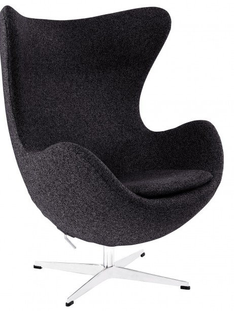 Dark Grey Magnum Wool Chair 461x614