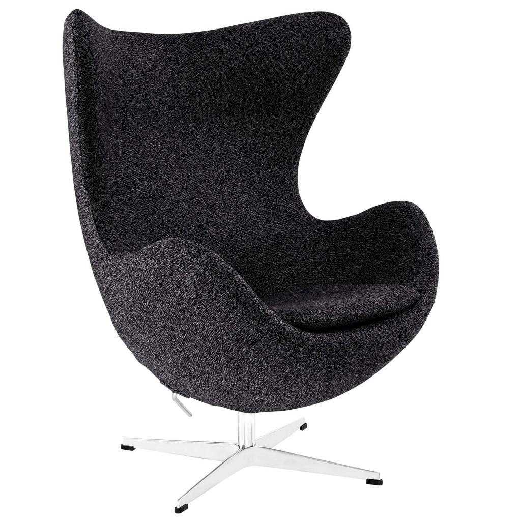 Dark Grey Magnum Wool Chair