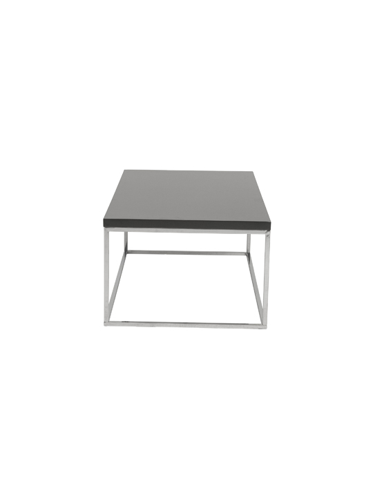 Float Rectangular Coffee Table Gray 3