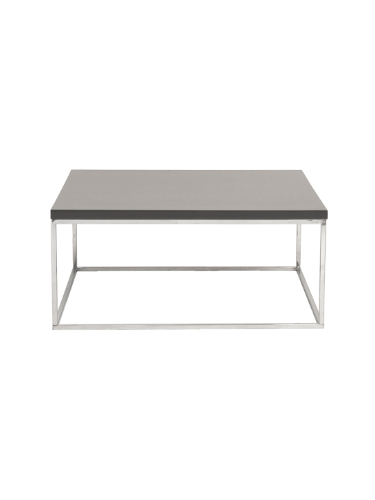 Float Square Coffee Table Gray 2
