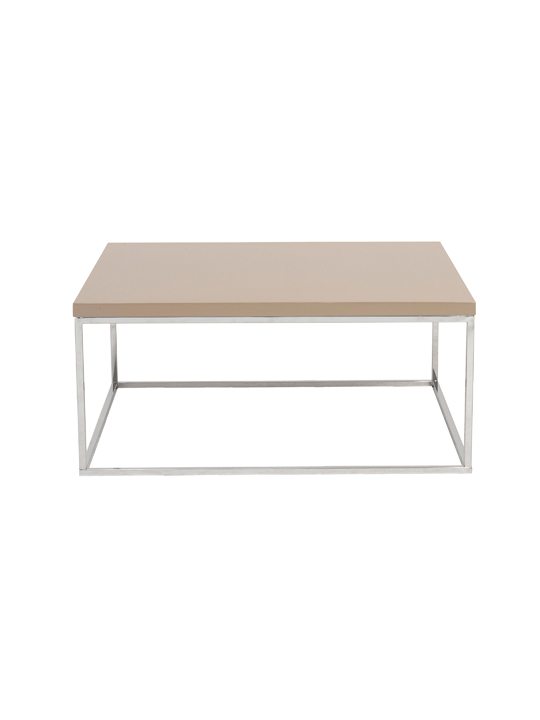 Float Square Coffee Table Tan