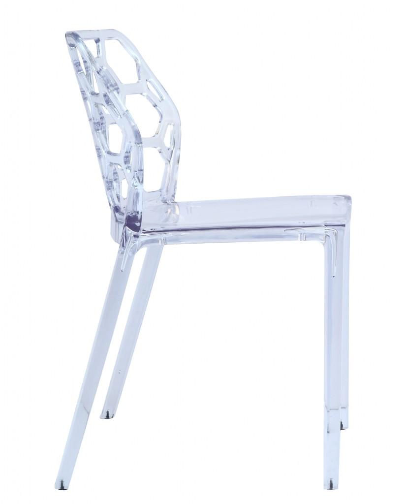 Geometric Chair Clear
