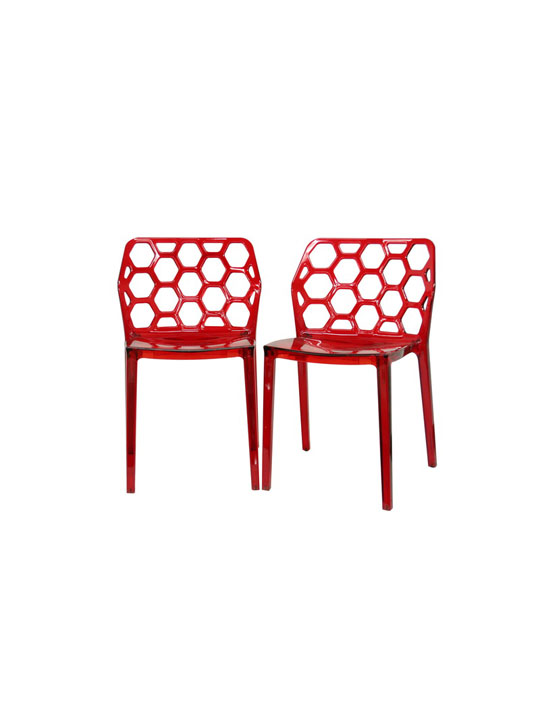 Geometric Chair Brickell Collection Modern Furniture Store